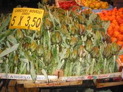 Sardinian artichokes.