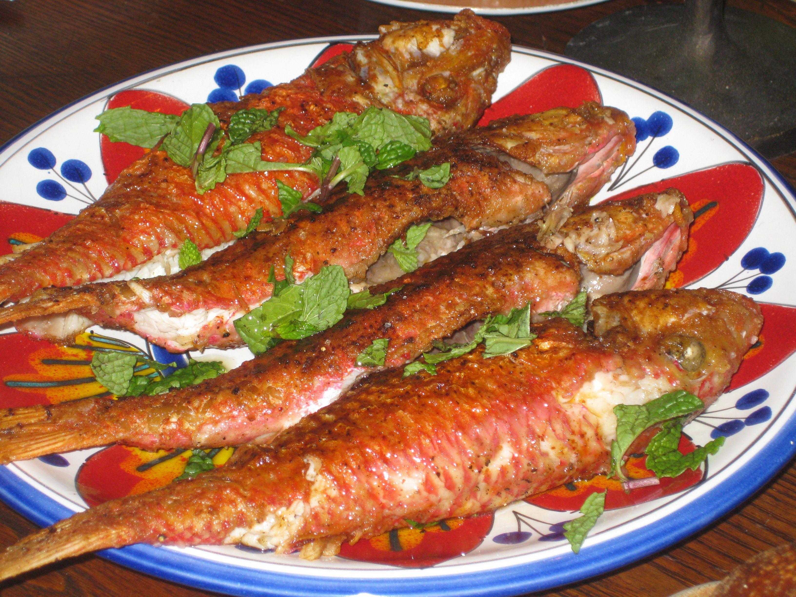 Фото блюда барабулька