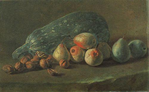 zucchini still life