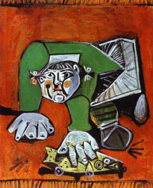 Pablo Picasso - Paloma with Celluloid Fish