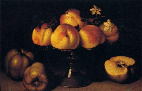 stillife peaches