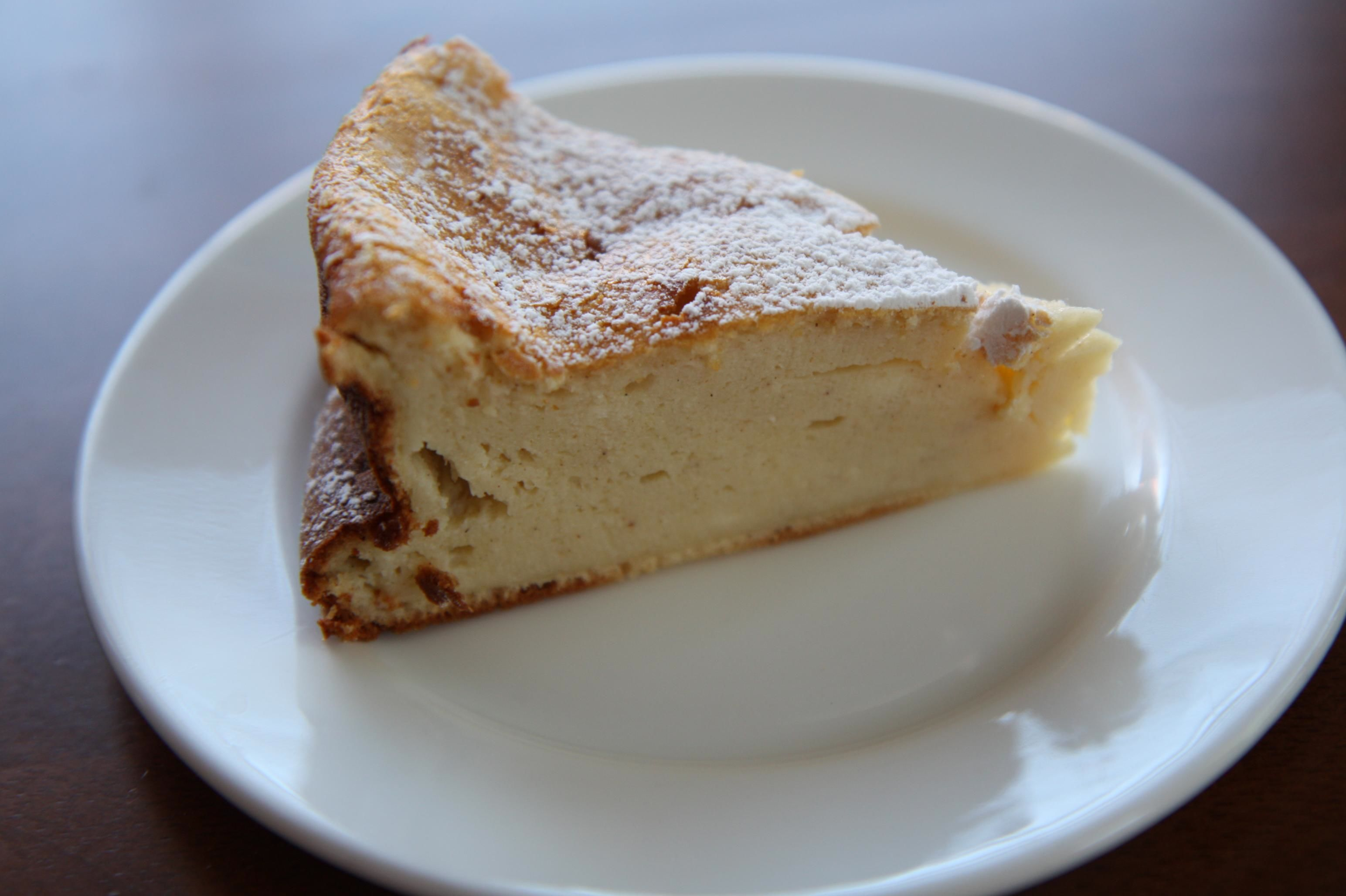 Ricotta Cake with Orange Flower Water and Honey | Erica De Mane