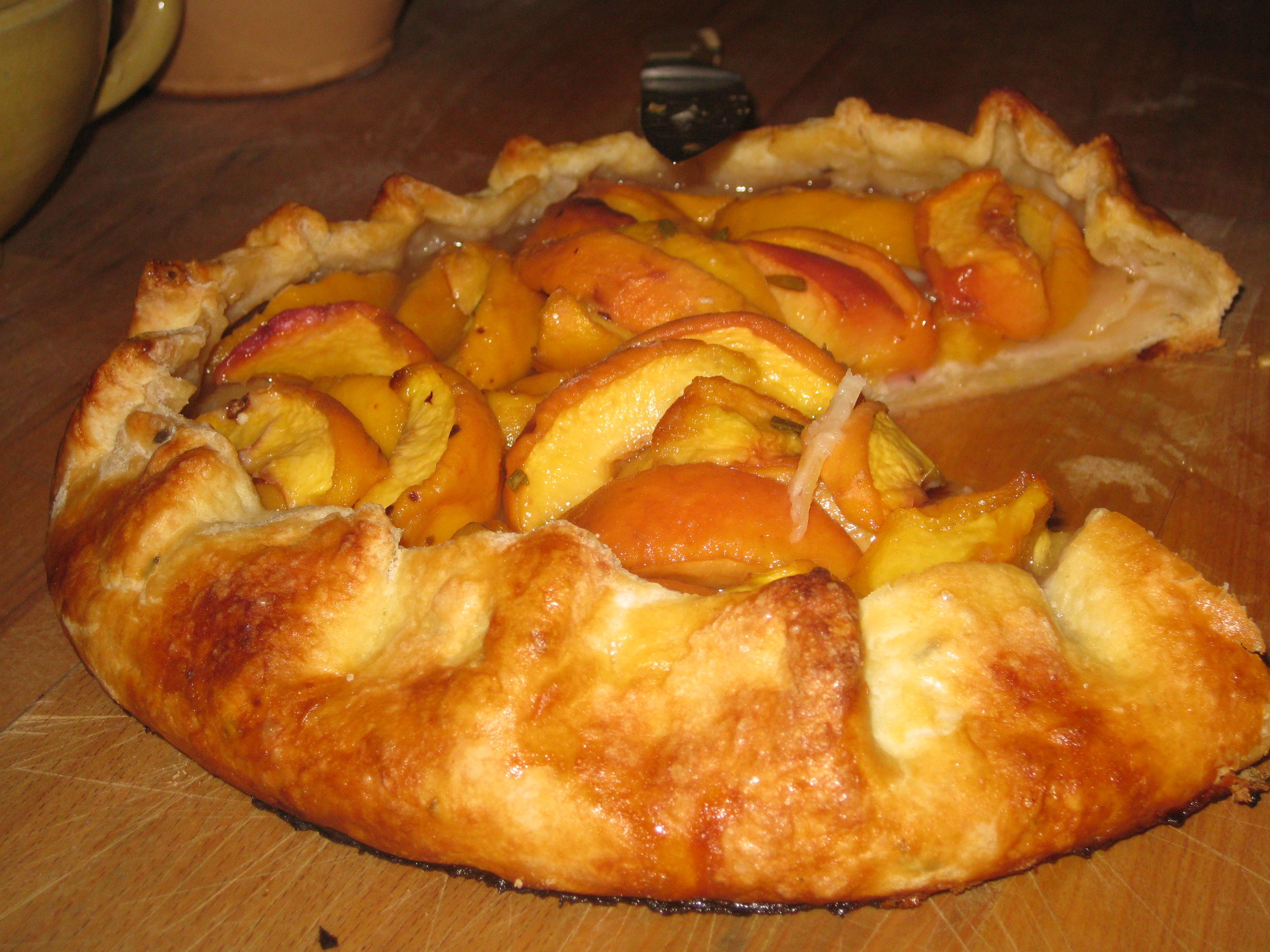 Peach Crostata Recipes — Dishmaps